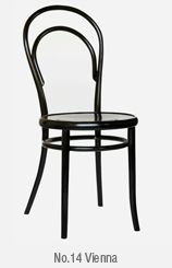 Chairs - thonet First chair to become an industrial product - orginally produced with 3 legs