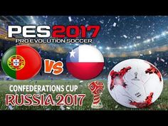 Кубок конфедераций 2017 Португалия – Чили || PES 2017 FIFA Confederation...