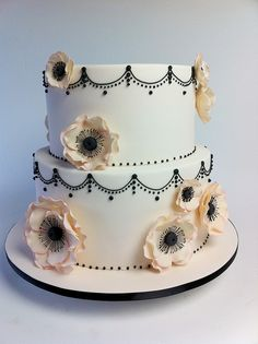 the inspiration for our wedding cake. I still love this design to this day