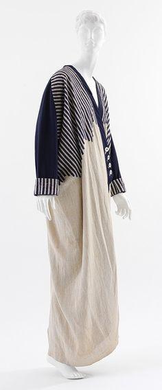 """""""Manteau d'automobile"""".  Coat, ca. 1912. Paul Poiret (French, 1879–1944). © 2000–2012 The Metropolitan Museum of Art"""