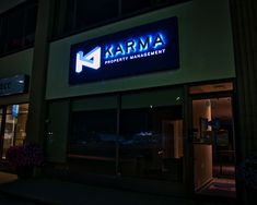 With over 38 years of combined experience, Karma Property Management provides excellent residential services. Property Management, Karma, Sign, Signs, Board