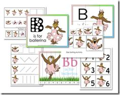 Ballerina Activity Pack