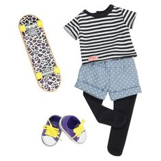 Our Generation Regular Outfit - Skating Outfit