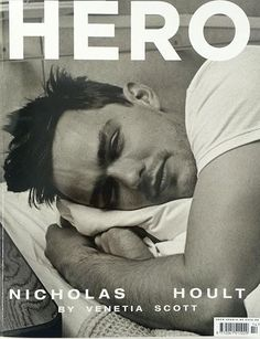 Nicholas Hoult on the cover of Hero Magz  via @DogbluffGirl