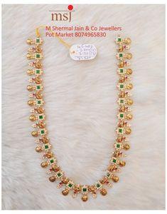 Jewelry Design Earrings, Gold Earrings Designs, Gold Haram Designs, Necklace Designs, Gold Bangles Design, Gold Jewellery Design, Gold Temple Jewellery, Gold Jewelry Simple, Choker