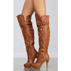Wild Diva Charlotte-51 Over The Knee Boots