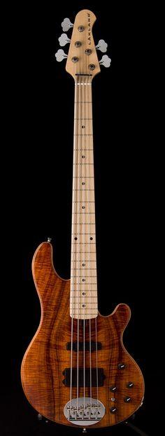 Lakland 5 string bass