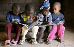 """UNICEF's """"Schools for Africa"""" campaign."""