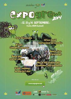 EXPOGROW 2014 by W33daddict . Expogrow, Foire du Chanvre http://expogrow.net 12, 13 et 14 Septembre à Irun (Ficoba), à quelques minutes à pied de la gare d'Hendaye. #w33daddict #Expogrow2014 #Irun #Euskadi #EUSFAC #Paotxa