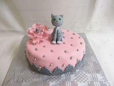 Cat Birthday Cake Design Cat birthday cakes Birthday cake