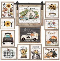 Rustic Fall Art Prints $7.56, Shipped! Happy Fall, Please Help Me, Autumn Art, Art Prints, I Want You, Good Mood, Art Images, Harvest, Patches