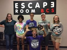 This group escaped the devious Dr. Andrew's lab in exactly 60 minutes!