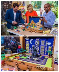 Bring fun on the road w/ @kennethwingard's Travel Adventure Play Set! Catch #homeandfamily weekdays at 10/9c on Hallmark Channel!