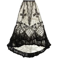 One Vintage Sylvia maxi skirt (€2.570) ❤ liked on Polyvore featuring skirts, bottoms, black, maxi, long ruffle skirt, maxi skirt, ruffle skirt, long velvet skirt and long maxi skirts