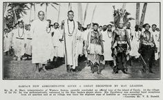 Ref: EV Donald for the Auckland Weekly News, Mau leaders, 1931, Sir George Grey Special Collections, Auckland Libraries, AWNS-19310812-44-2