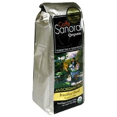 Caffe Sanora Organic Antioxidant-Rich, Breakfast Blend Ground Coffee, 12-Ounce Bags (Pack of 2) * For more information, visit image link. #GroundCoffee Coffee Gifts, Coffee Drinks, Coffee Brewer, Coffee Shop, Espresso Shot, Cappuccino Machine, Coffee Pictures, Home Brewing, Ground Coffee