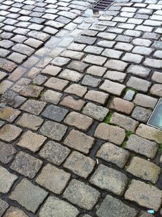 Day 136 - looks like a street in Philly but its where Belgium Block (cobblestones) come from.
