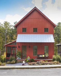 Every one of the 200+ homes in the scenic Serenbe community (located within the city limits of Chattahoochee Hills, Georgia) features a front porch.