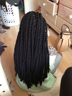 Finished doing my cousin's yarn twists!