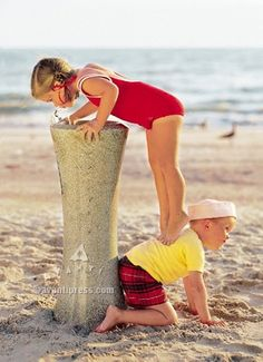 Great idea ......could seriously come up with some stinkin cute pics ...one kid helping maybe another get into trouble????