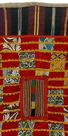 Detail, Egungun Costume 7 from the Yoruba peoples of Nigeria. via Hamill Gallery
