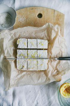 Pure Ella | No-bake, Raw Coconut Lemon Bars : sugar-free, gluten-free, vegan, guilt-free! www.pureella.com