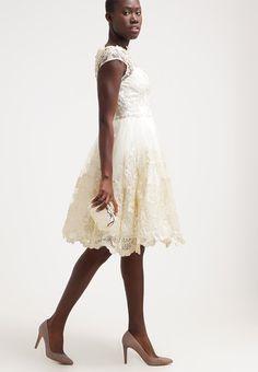 Chi Chi London Vestito elegante - white/gold - Zalando.it
