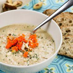 Cauliflower and Brazil Nut Soup