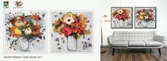 Modern floral wall decor / art from CAP & Winn Devon Canadian Art, Canvas Prints, Art Prints, Floral Wall, Limited Edition Prints, Devon, Office Decor, Wall Art Decor, Accent Decor