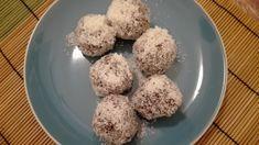 Paleo kókuszgolyó lenmaglisztből - Paleo süti receptek Paleo, Rice, Snacks, Food, Appetizers, Essen, Beach Wrap, Meals, Yemek