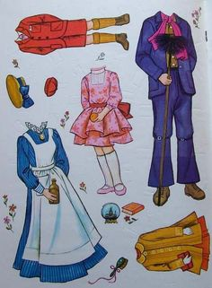 Paper Dolls: Mary Poppins