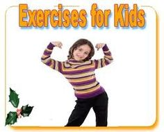 Simple exercises for children include running, skipping, cycling, jogging etc; which can be enjoyed by them very much. At the same time if they practice these exercises regularly, they can stay healthy and fit. Obesity is increasing in number in children these days and studies reveal that if nothing is done,