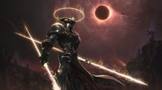digital art angels | warrior, Artwork, Digital Art, Cyborg, Solar Eclipse, Demon, Angel ...