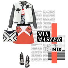 PATTERN MIXING by loveyourselves on Polyvore featuring Relaxfeel, Topshop, Dolce&Gabbana, contest, contestentry and patternmixing