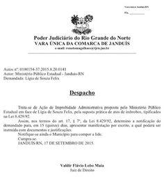 RN POLITICA EM DIA: JANDUÍS: DIAS NEGROS NO GOVERNO LÍGIA FELIX.