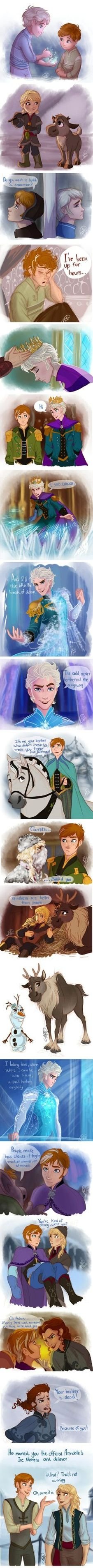 Frozen switched genders