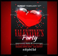 25 Beautiful Valentine Party Flyer Templates