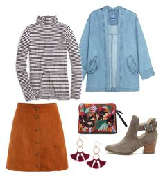70s Cool by devan-rose on Polyvore featuring polyvore, fashion, style, J.Crew, Steve J & Yoni P, Sole Society, Humble Chic and clothing
