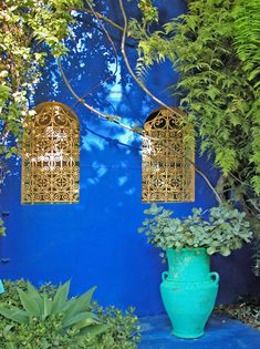 Jardin Majorelle, created in the 1920s by French painter Louis Majorelle