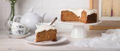 Το πιο νόστιμο κέικ καρότου με γλάσο τυρί κρέμα (VIDEO) Vanilla Cake, Sweet Recipes, Bakery, Cooking Recipes, Pudding, Sweets, Desserts, Food, Tailgate Desserts