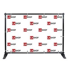 This 8'x10'Adjustable Telescopic Backdrop Stand can be set up promptly. Display sizes may be adjusted depend on user's demand.Hanging deferent sizes of fabric graphics allows you to demonstrate what you need on trade shows, events, store promotions, exhibitions, conferences, etc.