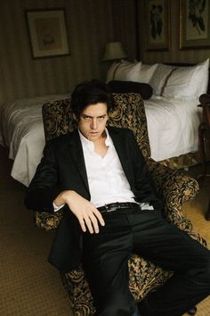 Cole was always my favorite Sprouse twin... But, now I think I'm in love... Seriously, black looks good on him.