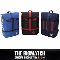 Manchester United Chelsea FC Barcelona Official backpack sport EPL bag BP5S03 #Eon #Backpack
