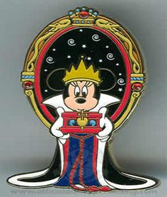 Disney Minnie Mouse as the Evil Queen pin