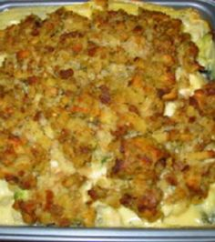 Stove Top One-Dish Chicken Bake With Vegetables
