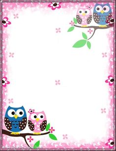 portada hair cutting techniques for thin hair - Thin Hair Cuts Owl Crafts, Diy And Crafts, Crafts For Kids, Paper Crafts, Borders For Paper, Borders And Frames, Page Borders Design, Owl Wallpaper, Theme Harry Potter