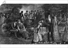 An Evening Fete in Regents Park, London, 1887 (Print #14114100) Poster Fine Art Prints, Framed Prints, Canvas Prints, Regents Park London, Victorian Ladies, Photographic Prints, Wonderful Images, Poster Size Prints, Online Printing