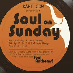 Easter Sunday Soul Night at our Waltham Abbey restaurant. A fantastic evening of food and great soul tuuuuunes !