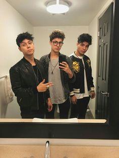 Mario, Juanpa y Sebastián #Caballeros #Mexicolombia❤   ❤