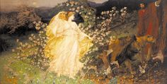 'Venus and Anchises', by Sir William Blake Richmond (1842 - 1921)